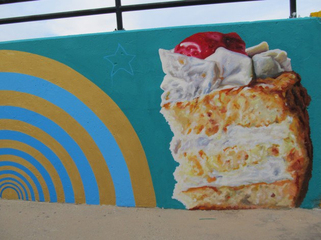 Piece of Cake Mural