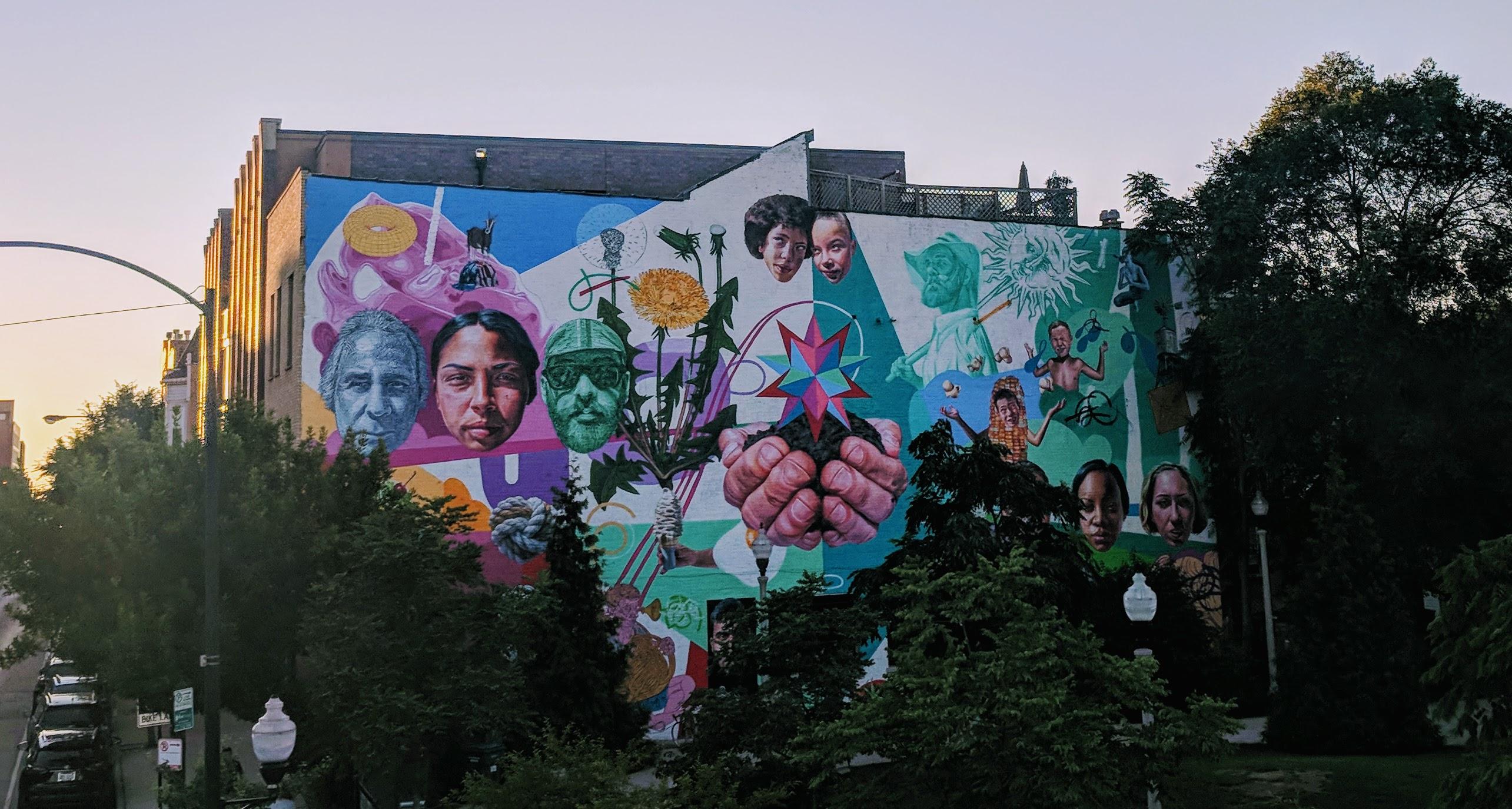 Bucktown Mural