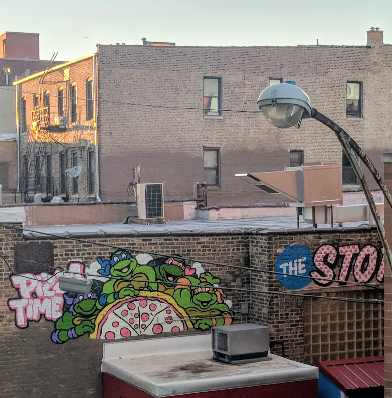 Teenage Mutant Ninja Turtles Mural in Chicago