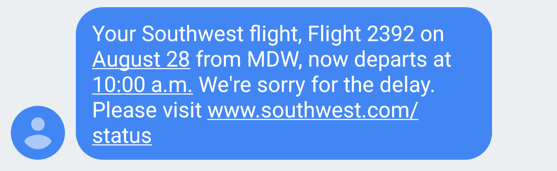 Southwest Delay