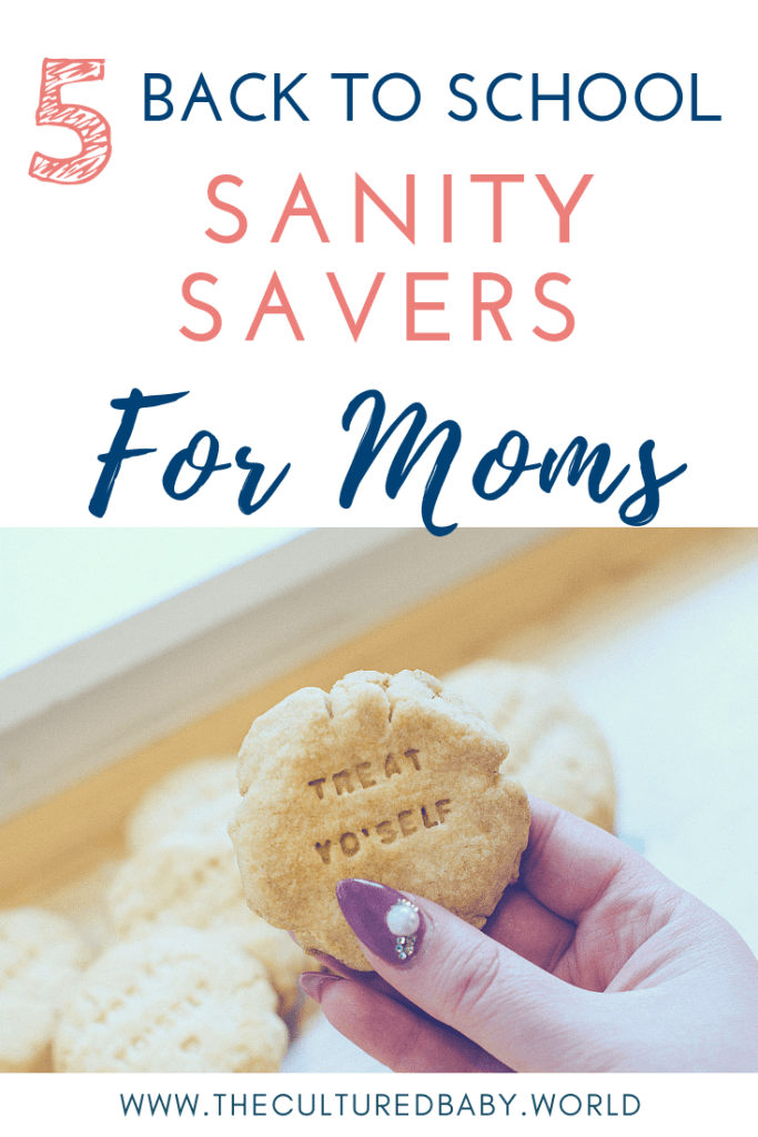 5 Back to School Must Haves to Maintain Mom's Sanity
