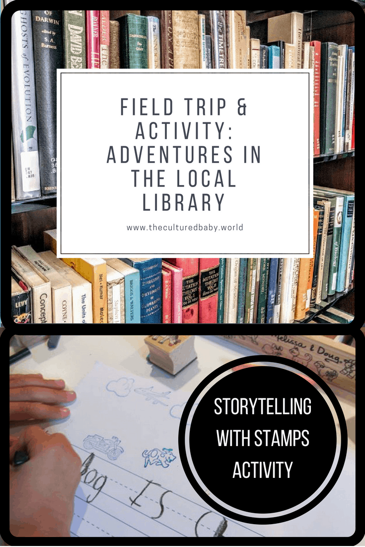 Field Trip & Activity: Adventures in the Local Library