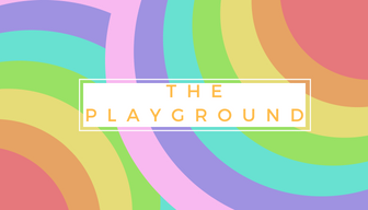 bright colored rainbows: the playground