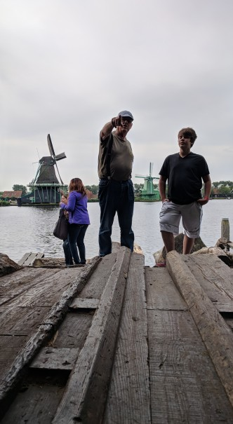 Tour of Windmill in Zaanse Schans