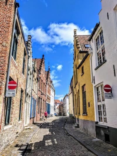 Quaint Bruges Neighborhood