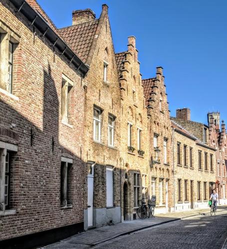 Picturesque neighborhood in Bruges