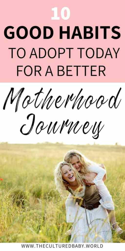 smiling mom in the field giving her daughter a piggy back ride | tips for a better motherhood journey
