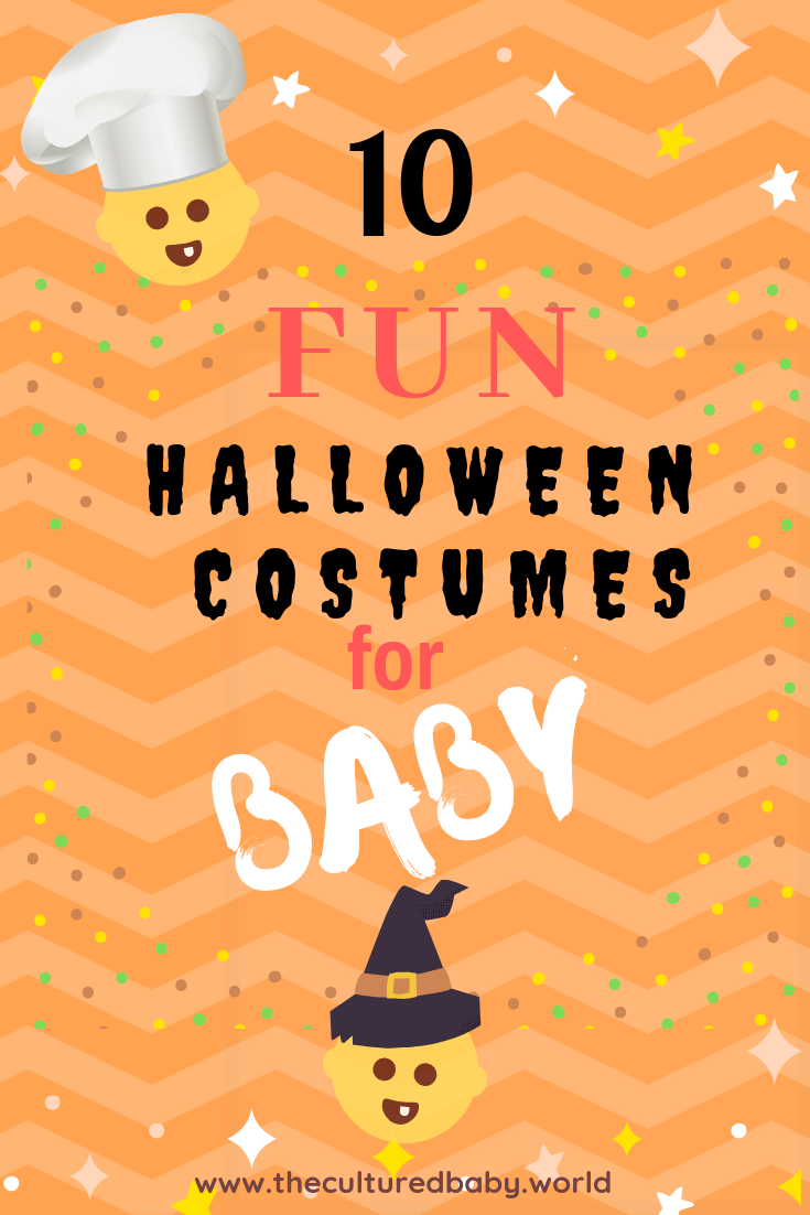 Baby halloween | 10 Fun Halloween Costumes for the Baby in Your Life #babyhalloweencostumes #funbabycostumes
