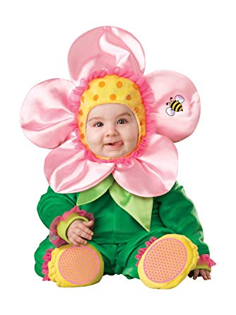 blooming flower baby costume