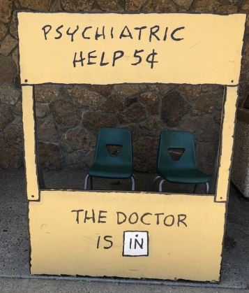 Psychiatric help from Lucy