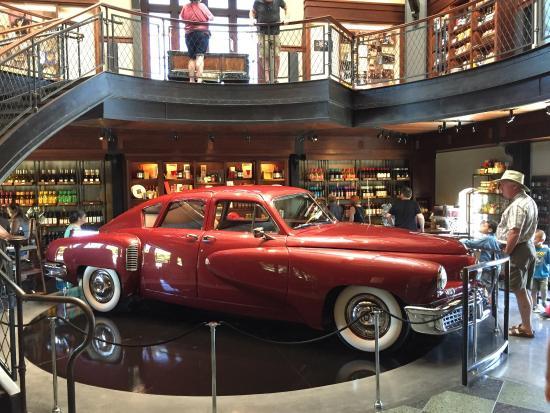 Tucker car at Coppola Winery