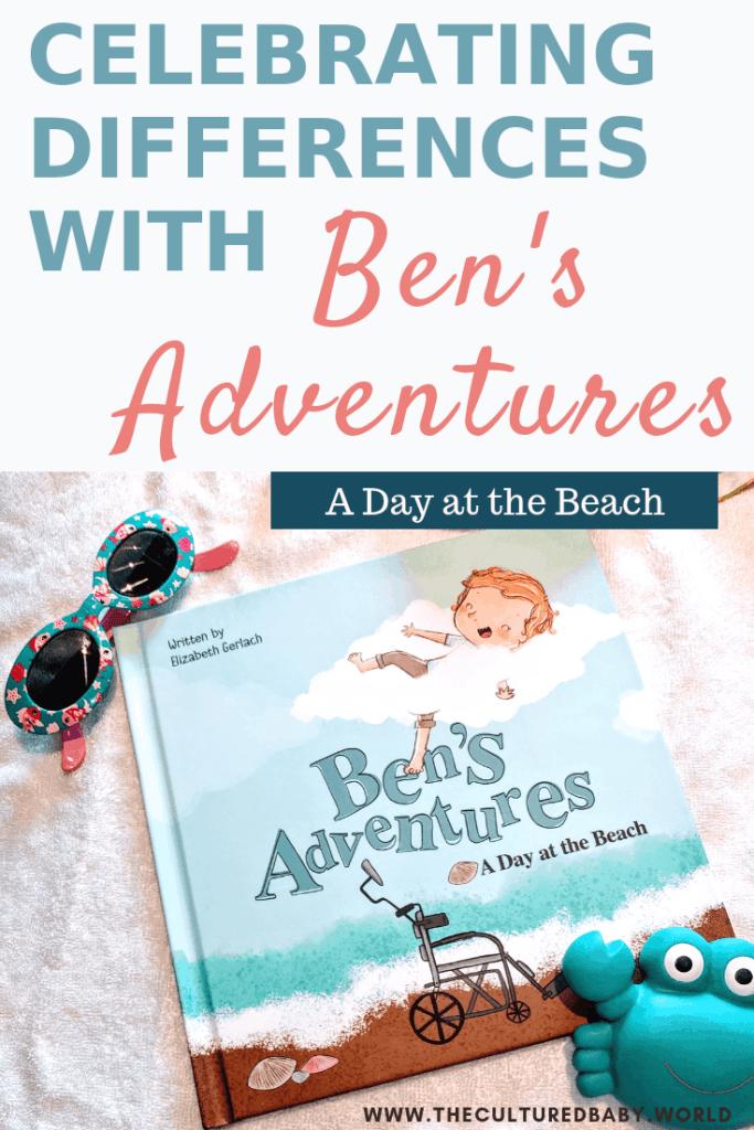 Ben's Adventures: A Day at the Beach Book