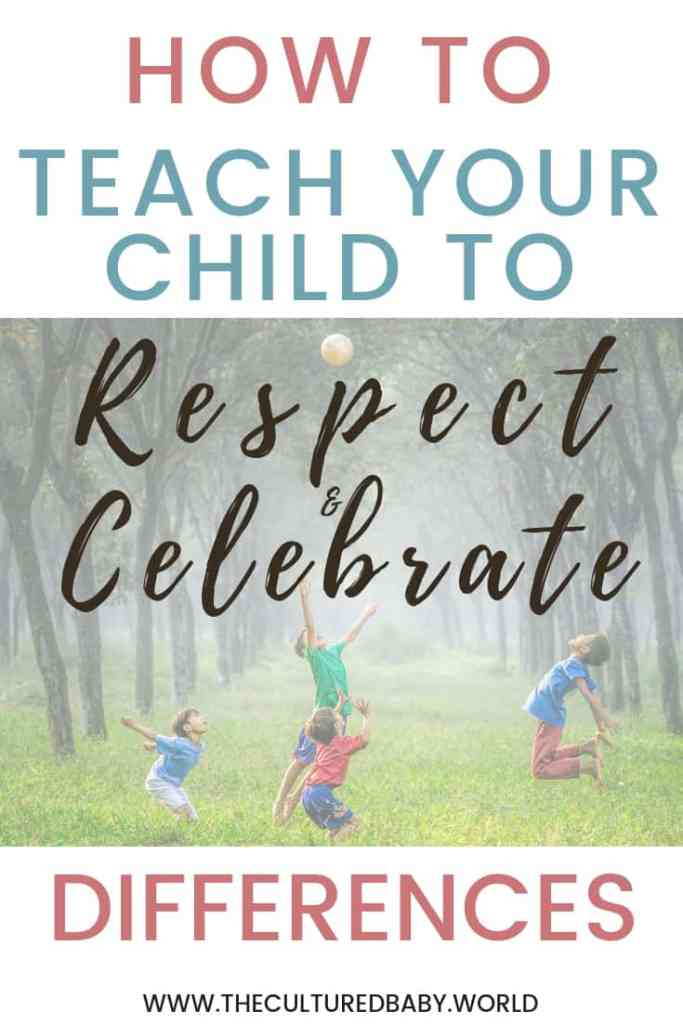 Children of all ages and backgrounds playing together outside | embracing diversity | respecting differences