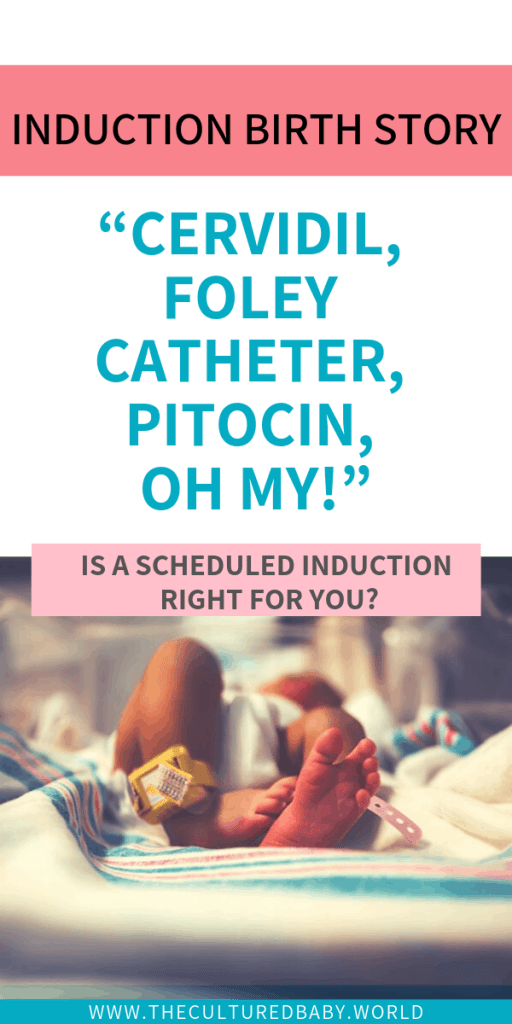 baby in the hospital | labor induction