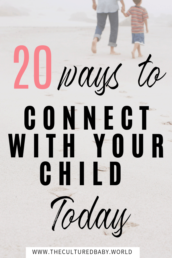 father and son walking on the beach | 20 ways to connect with your child