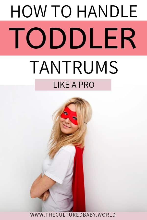 how to handle toddler tantrums like a pro | mom ins a super hero costume