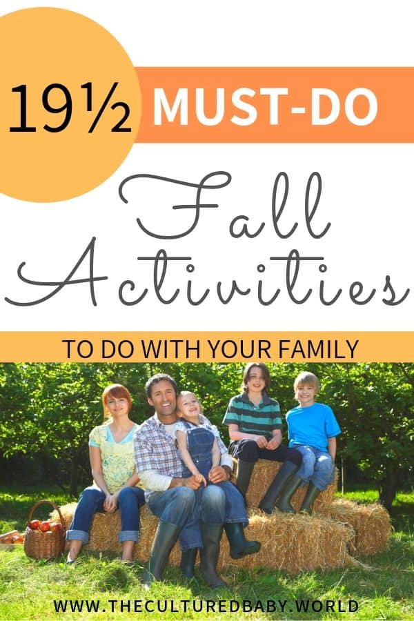 family at an apple orchard | fall activities