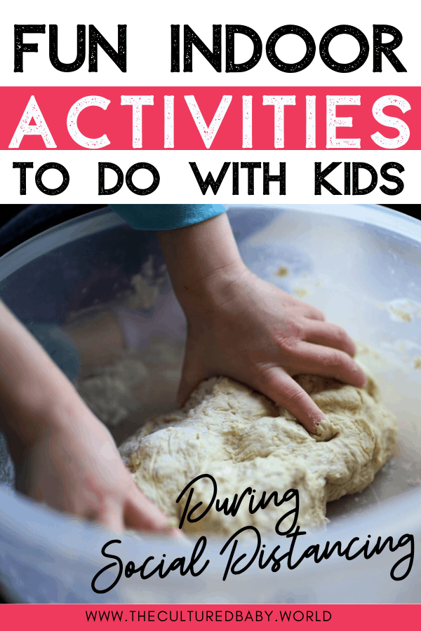 child helping in the kitchen during quarantine| the cultured baby