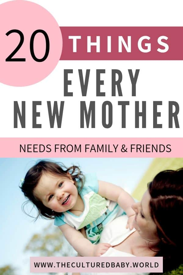 mother and daughter | things every new mother needs
