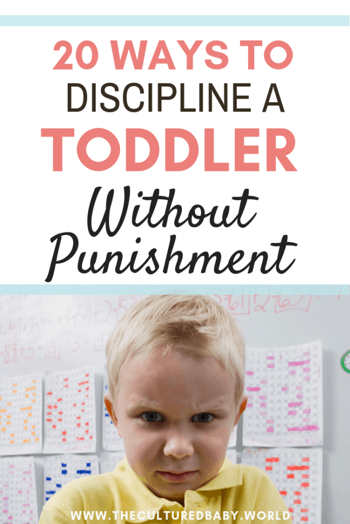 20 Ways to Discipline a Toddler Without Punishment